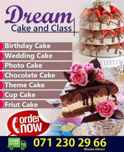 Birthday Cakes and all your cake needs