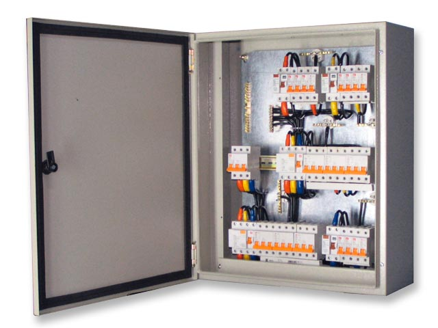 Powder Coated Electrical Panel Boards in all types and sizes