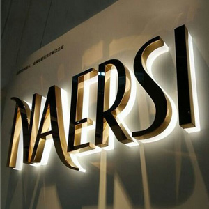 Brass and Stainless Steel Letters for Names and Boards