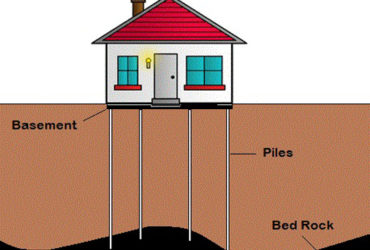 Piling and shoring for building constructions