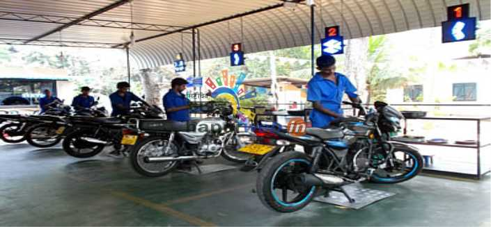 Bajaj motorcycles service and repair
